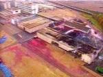 Incendie Dans Un Entrepôt De Produits Phytosanitaires