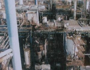 Explosion Suivie D'un Incendie Dans Une Unité De Dispersant