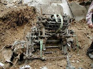 Explosion Dans Une Usine De Fabrication De Dynamite.