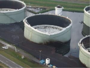 Rupture Of A Crude Oil Storage Tank