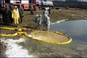 Fuite Sur Un Pipeline Et Pollution Aquatique