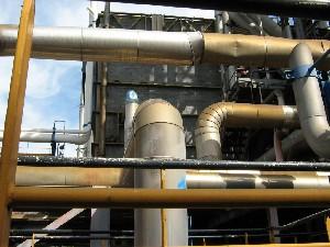 Bursting Of A High-pressure Steam Pipe