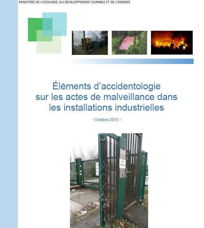 Accidentologie Sur Les Actes De Malveillance Dans Les Installations Industrielles