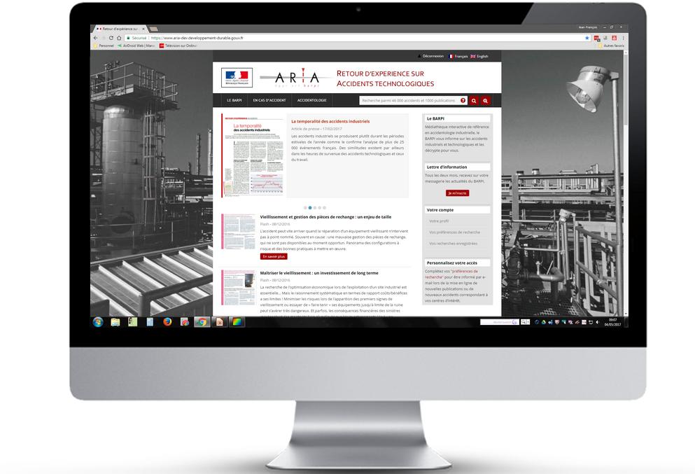 Bienvenue Sur Le Nouveau Site ARIA ! Aperçu Des Nouvelles Fonctionnalités