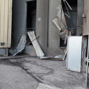 Explosion De Poussières Et Incendie Dans Un Silo Portuaire