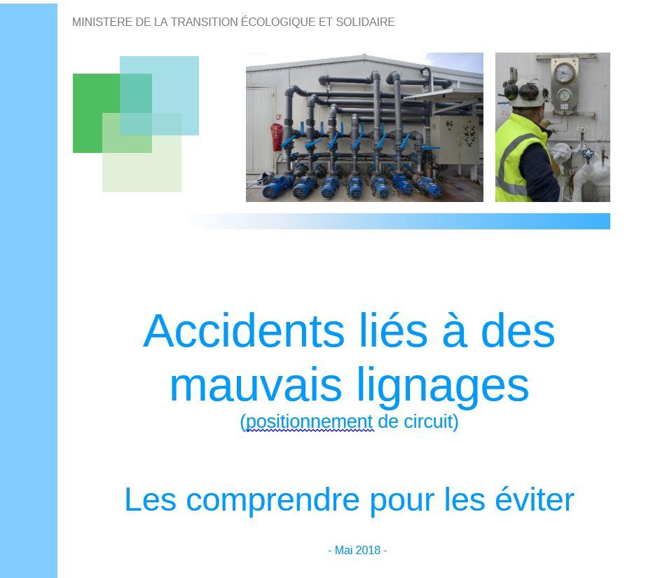 Accidents Liés à Des Mauvais Lignages (positionnement De Circuits)