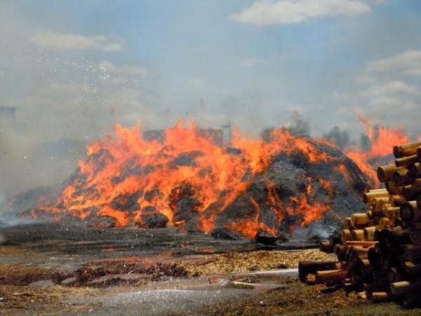 Diaporama Sur Les Incendies De Tas De Copeaux De Bois