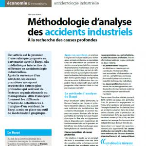 Méthodologie D'analyse Des Accidents Industriels : à La Recherche Des Causes Profondes